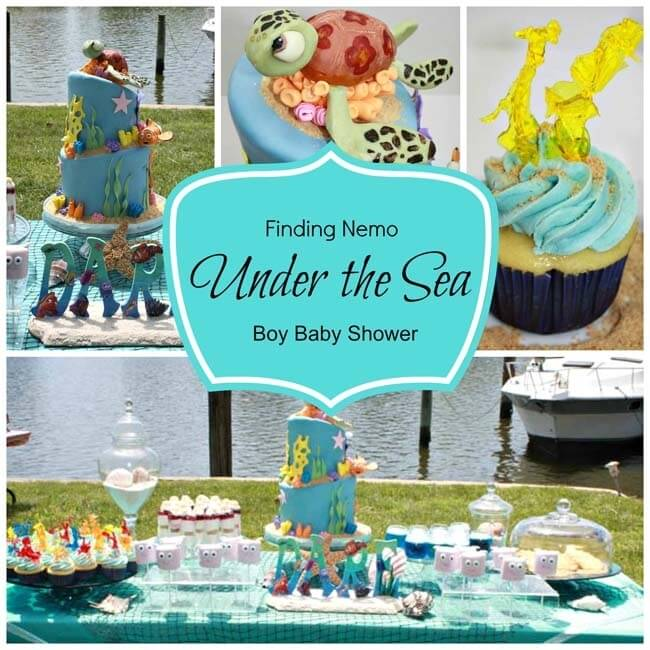 Under the Sea Theme Baby Shower Ideas