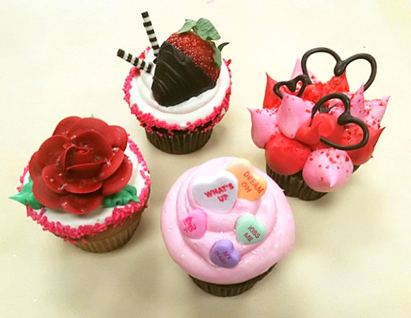 10 Photos of Delicious Valentine's Day Cupcakes
