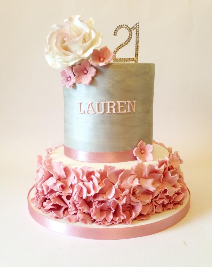 10 21st Birthday Cakes Pinterest Photo 21st Birthday Cake 21st