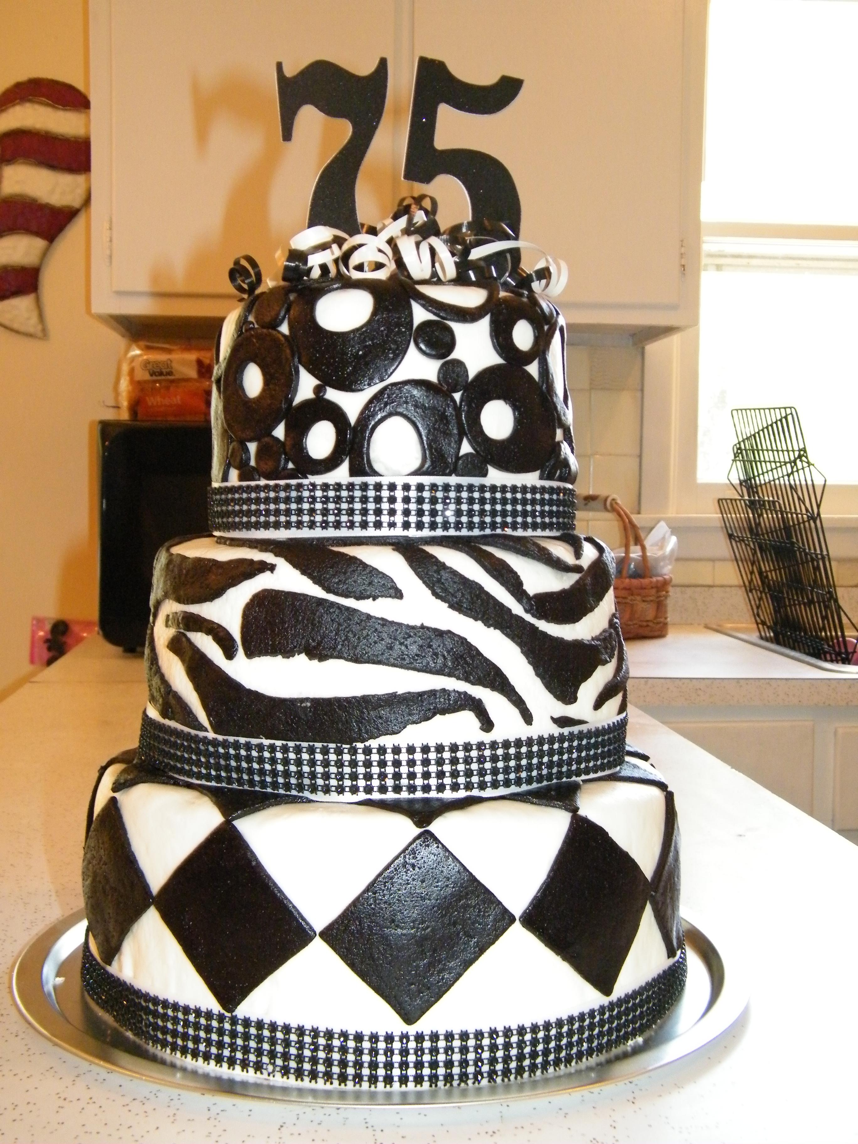 12 75th Birthday Cakes At Publix Photo Wedding Anniversary Cakes