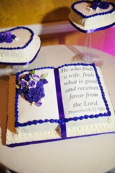 9 Photos of Purple Communion Bible Cakes
