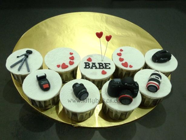 Camera Cake Cupcakes