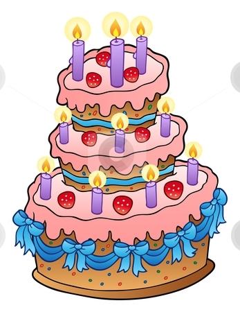 Wondrous 5 Really Big Cartoon Cakes Photo Cartoon Birthday Cake With Personalised Birthday Cards Beptaeletsinfo