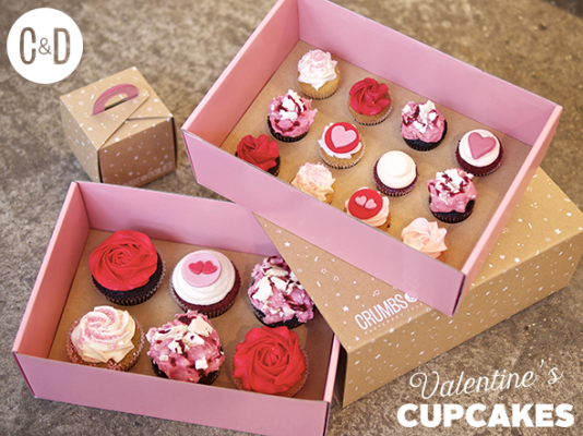 7 Photos of Online Valentine Cupcakes
