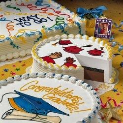 5 Photos of Dairy Queen Graduation Cakes