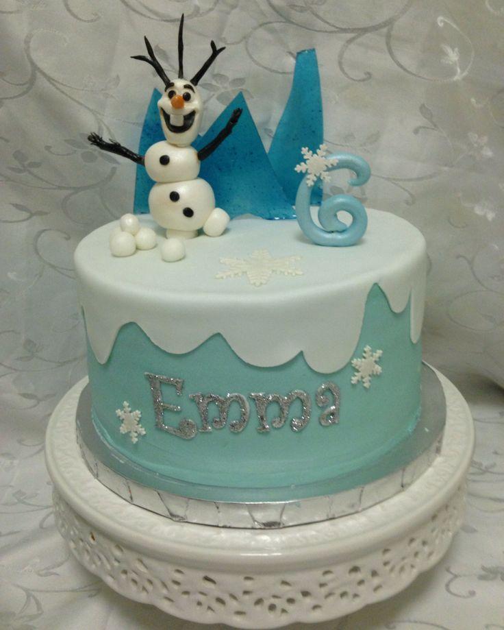 10 Olaf From Frozen Disney Movie Cakes Photo Olaf Disney Frozen