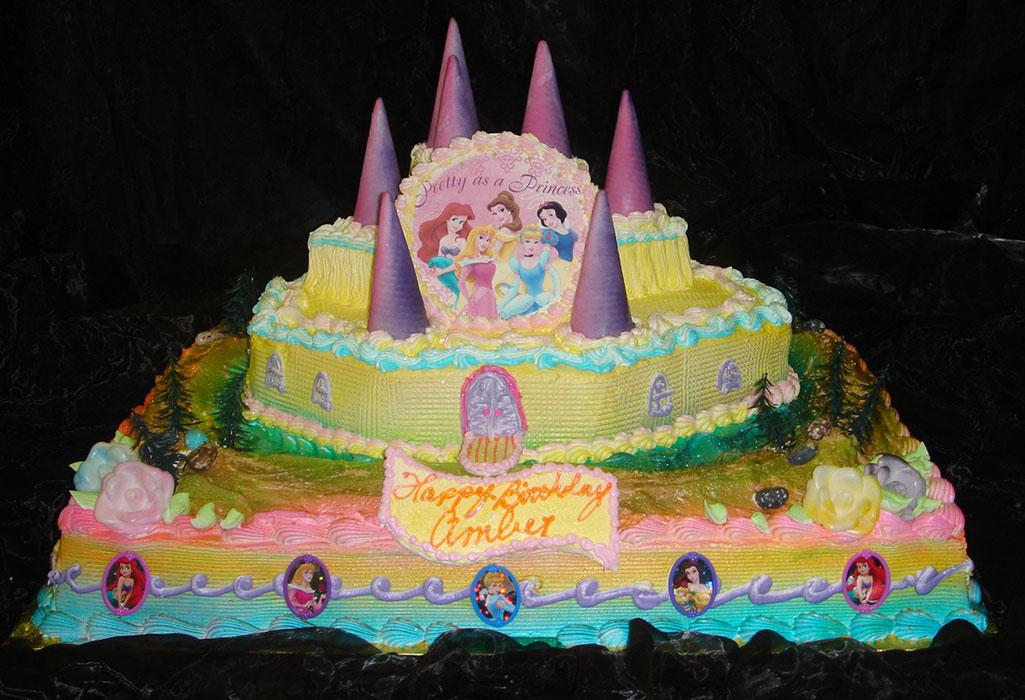 Disney Princess Palace Pets Birthday Cake