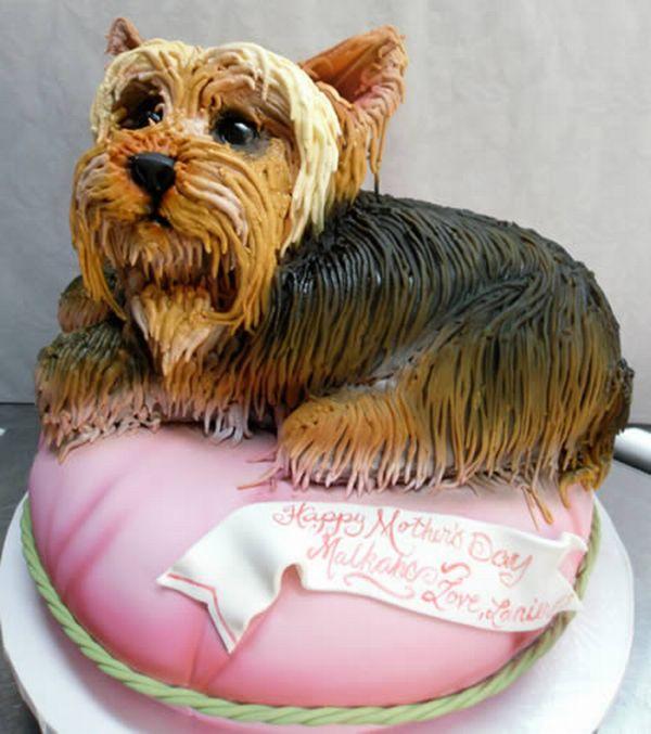 7 Amazing Dog Shaped Cakes Photo