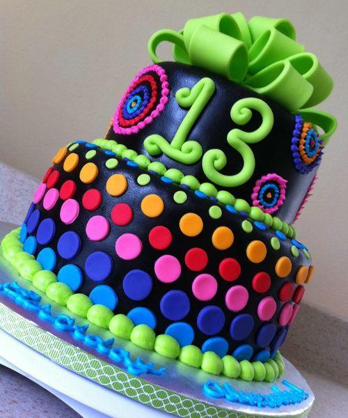 Girls Rainbow Birthday Cake Ideas