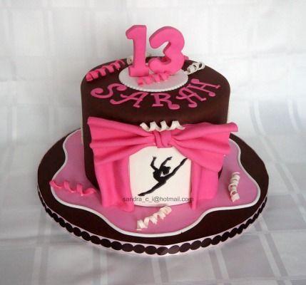 Pleasing 8 Birthday Cakes For Girls Dance Photo Jazz Dance Birthday Cake Personalised Birthday Cards Cominlily Jamesorg