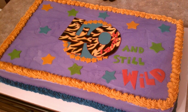 Happy 40th Birthday Cake