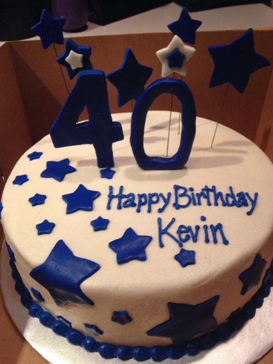 Happy 40th Birthday Cakes Men