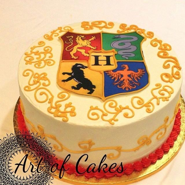 Harry Potter Cake Buttercream