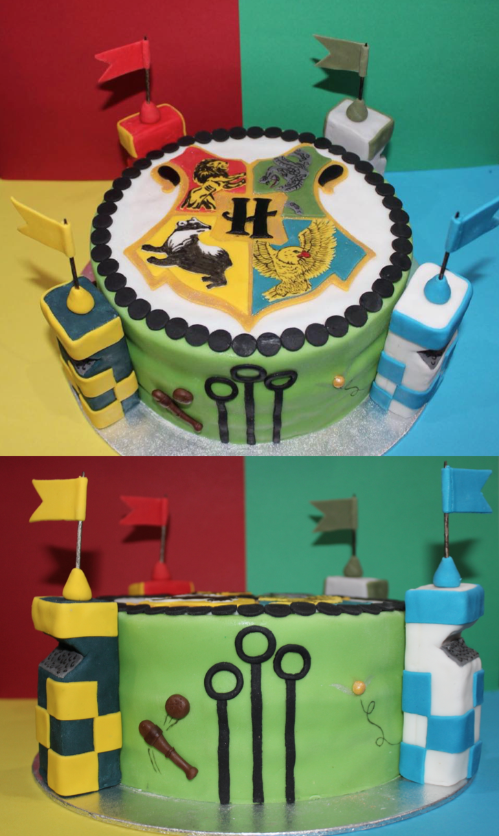 10 Photos of Harry Potter Buttercream Drawings Cakes