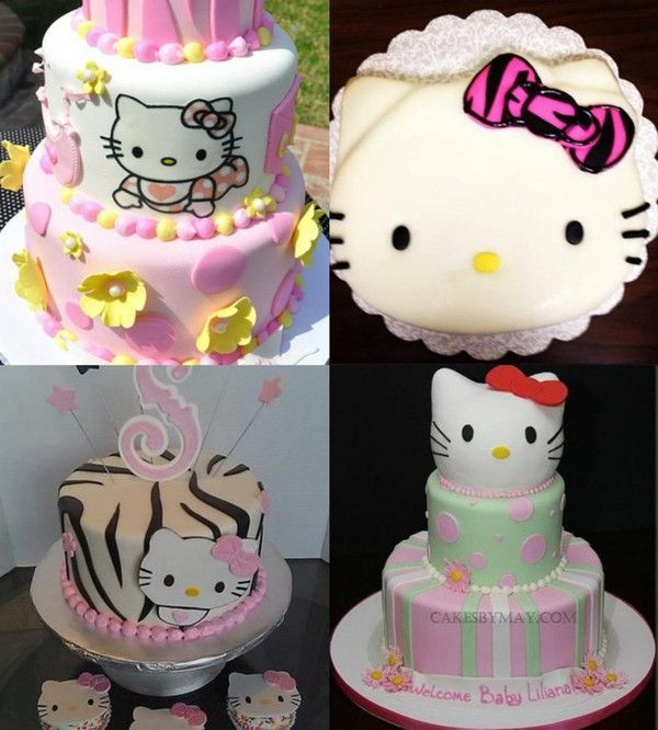 12 Hello Kitty Themed Baby Shower Cakes Photo Hello Kitty Baby