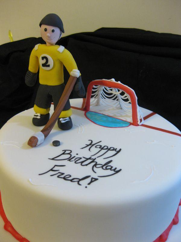 Wondrous 12 Birthday Cakes For A Hockey Player Photo Happy Birthday Personalised Birthday Cards Petedlily Jamesorg