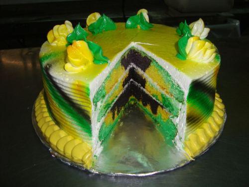 Strange 11 Jamaica Theme Birthday Cakes Photo Jamaican Themed Birthday Funny Birthday Cards Online Inifodamsfinfo