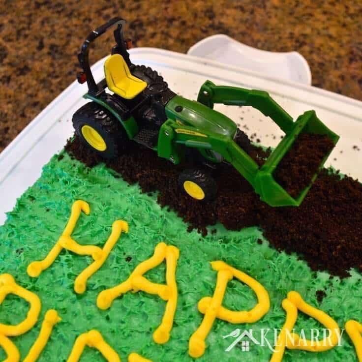 John Deere Tractor Birthday Cake Ideas