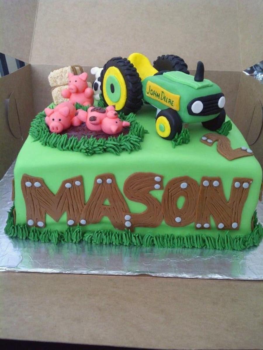 John Deere Tractor Cake Ideas