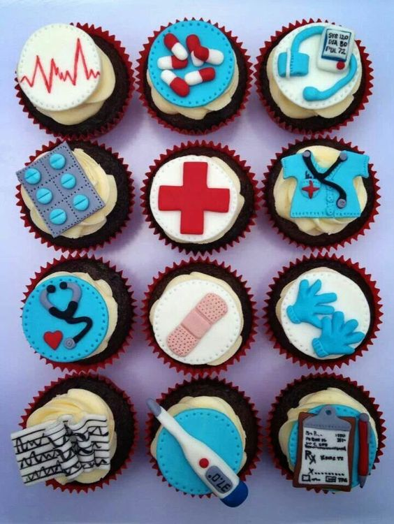 12 Photos of Nurse Retirement Cake And Cupcakes