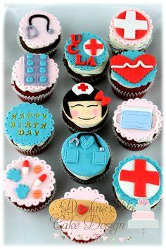 Nurse Cupcakes
