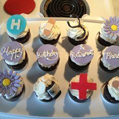 Nursing Retirement Cupcakes