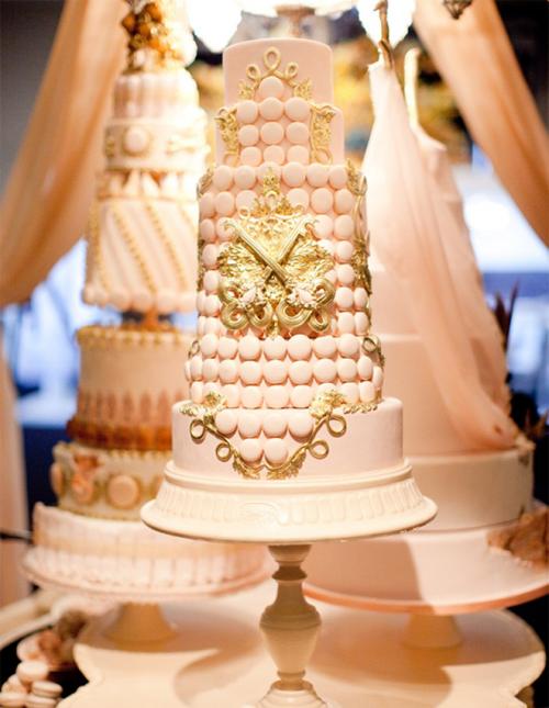 11 Bridal Cakes Inc Photo Wedding Cake Rose Gold And Black