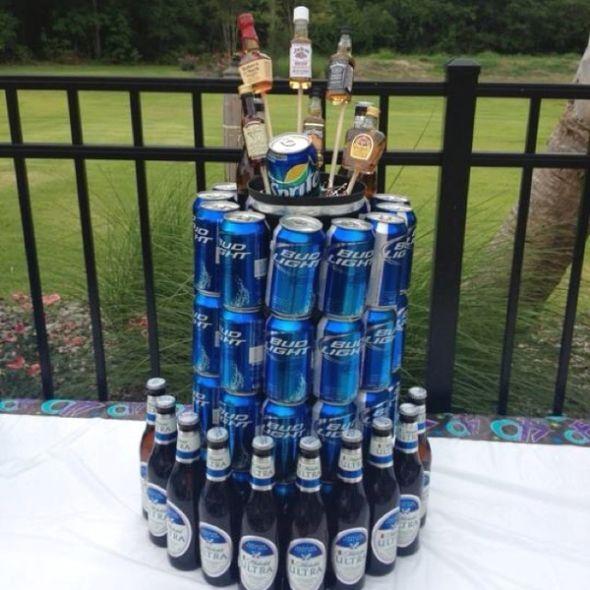 40 Alcoholic Groom's Cakes Photo Alcohol Crown Royal Bottle Cake Awesome Liquor Bottle Cake Decorations