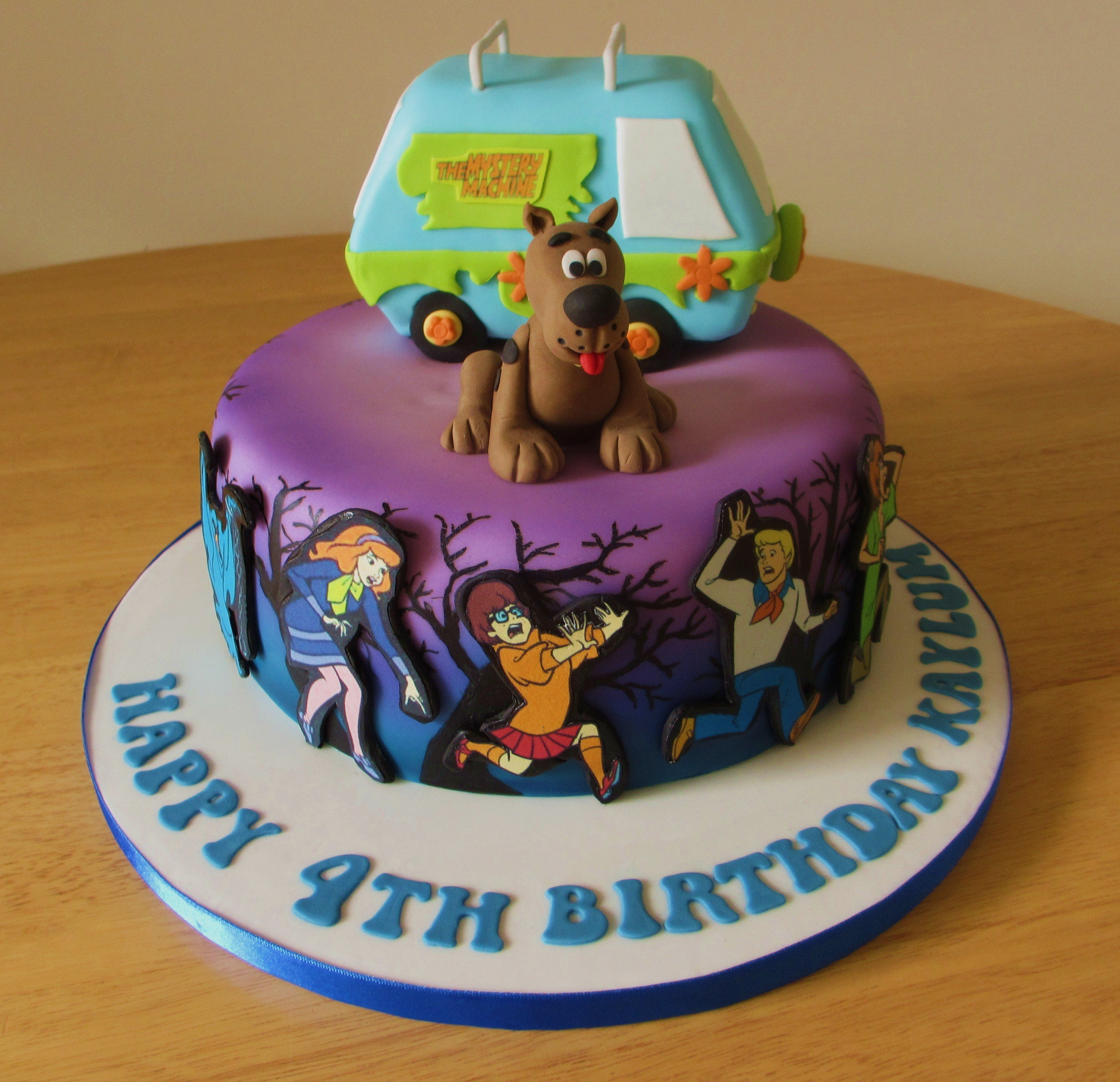 10 Easy Scooby Doo Cakes Photo Scooby Doo Birthday Cake