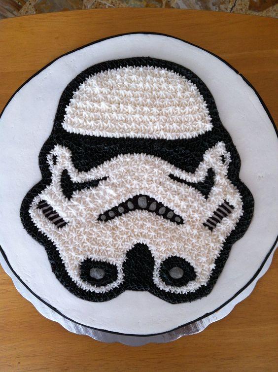 Surprising 12 Easy Birthday Cakes Star Wars Stormtrooper Photo Stormtrooper Personalised Birthday Cards Vishlily Jamesorg