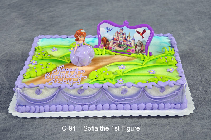 Awe Inspiring 11 Princess Sofia The First Sheet Cakes Photo Sofia The First Personalised Birthday Cards Veneteletsinfo