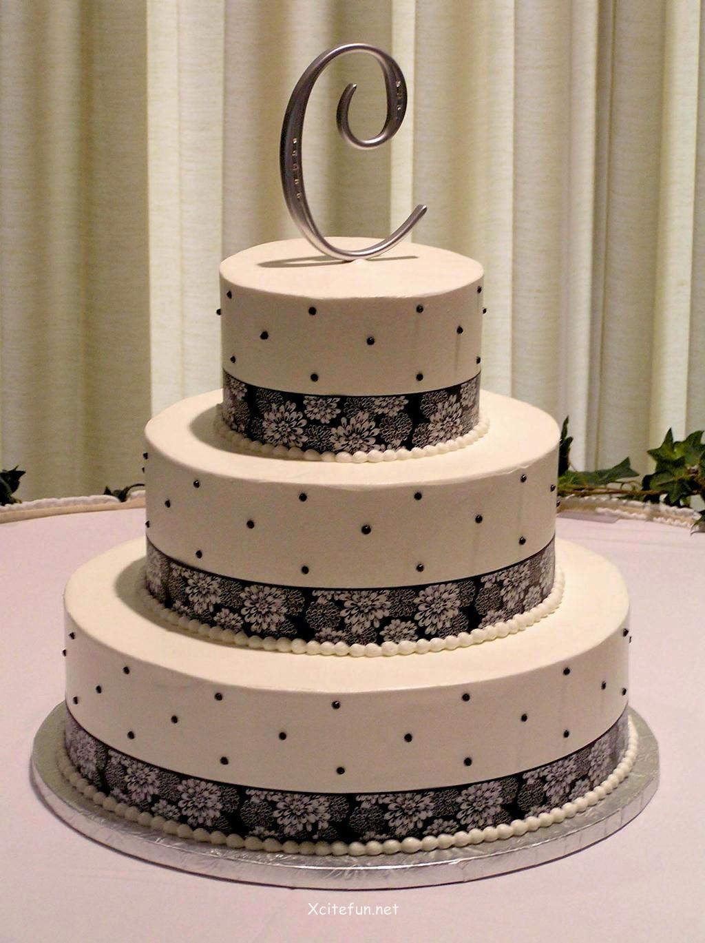 10 Beginner Wedding Cakes Photo Polka Dot Ombre Wedding Cake