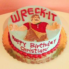 Wreck-It Ralph Birthday Cake