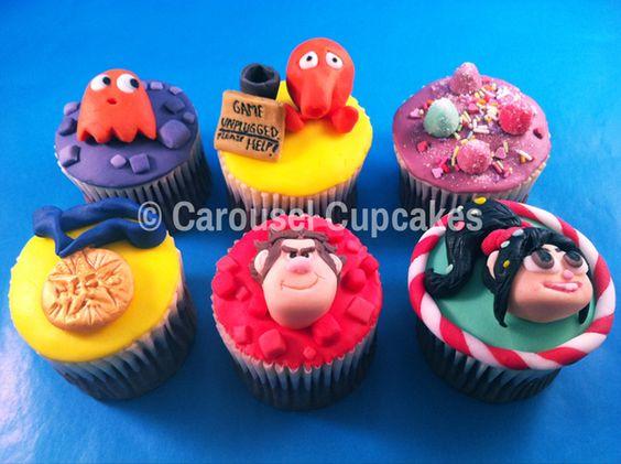 Wreck-It Ralph Cupcakes