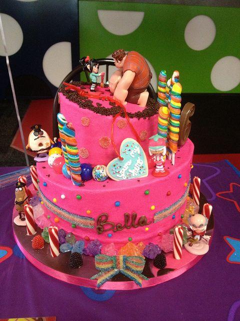 Wreck-It Ralph Sugar Rush Birthday Cake