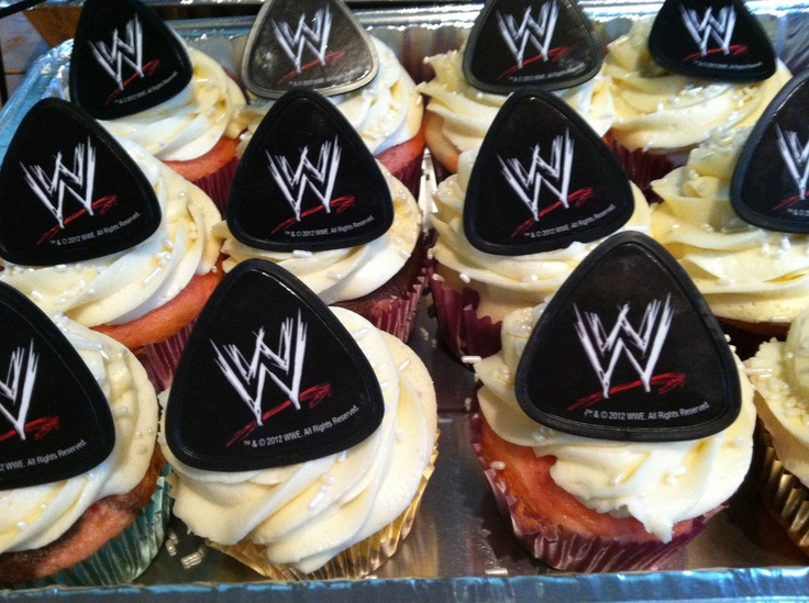 WWE Birthdays Cupcakes