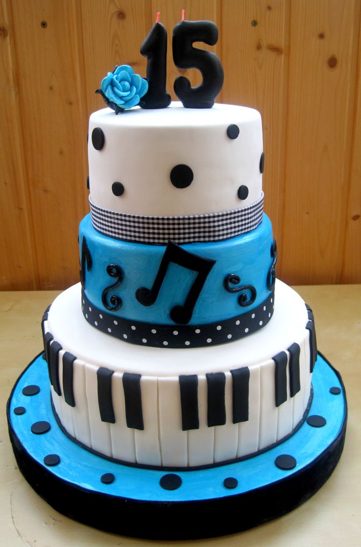 10 Cool 15th Birthday Cakes Photo 15th Birthday Cake Ideas Sweet