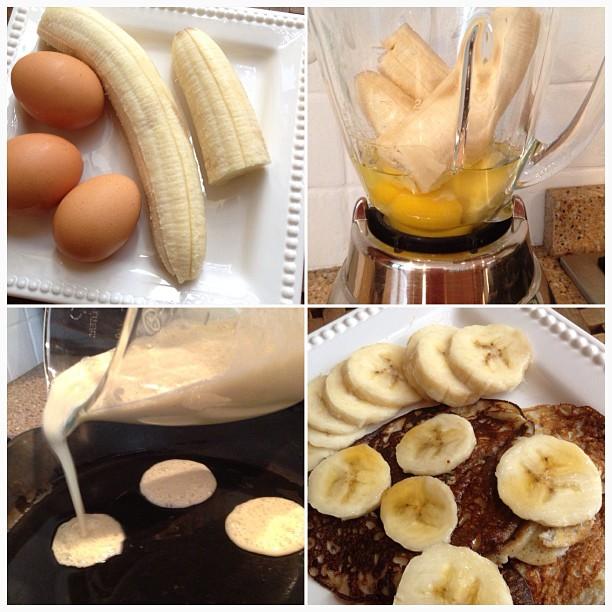 8 Photos of Banana Egg Pancakes