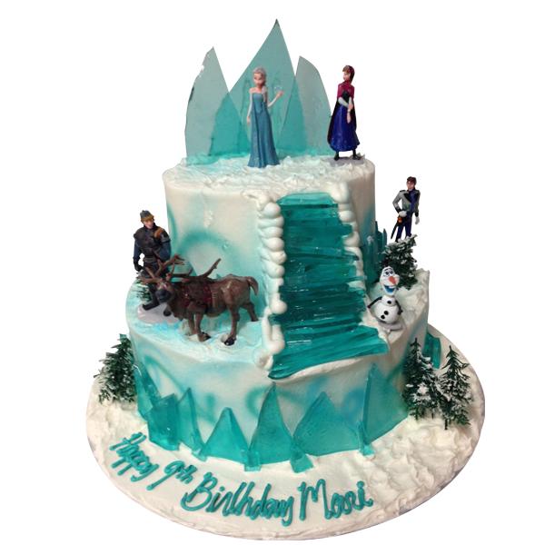 Birthday Frozen Cake Layers