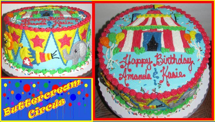 Buttercream Icing Birthday Sheet Cake