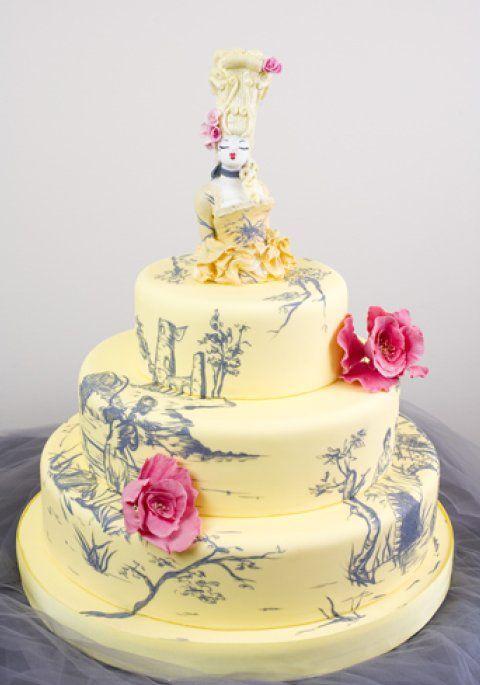 9 Photos of David's Bridal Wedding Cakes