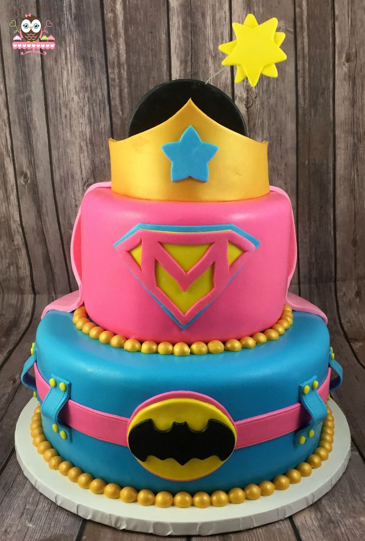 Swell 12 Birthday Cakes Of Dc Super Heroes Photo Super Heroes Birthday Funny Birthday Cards Online Aeocydamsfinfo