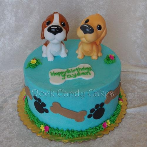 9 Photos of Dog Decorated Cakes