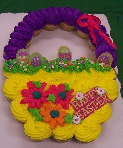 Easter Basket Cupcakes