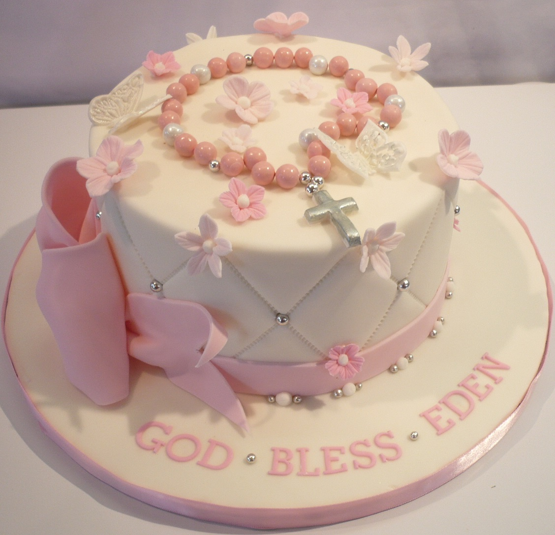 First Communion Girl Cake
