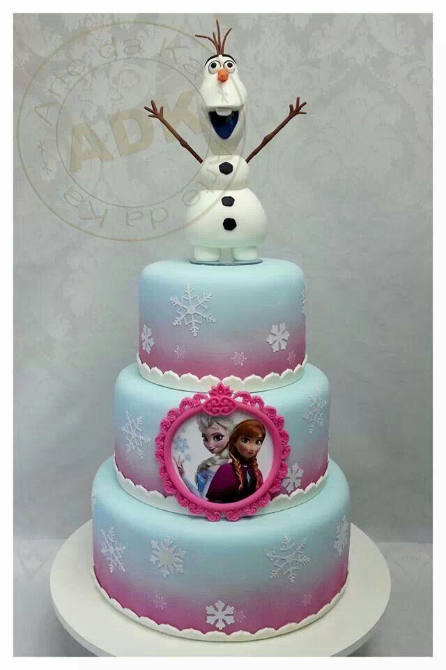 Frozen Cake Ideas Pinterest