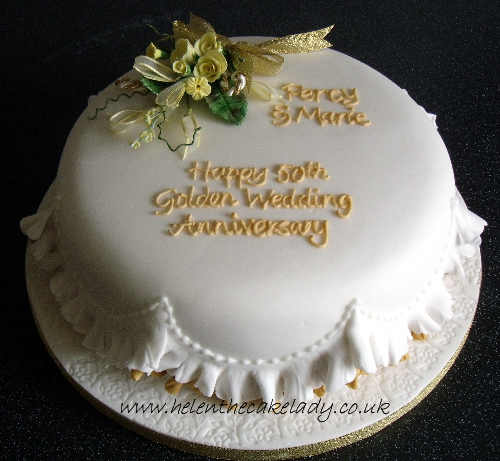 7 Photos of 50th Wedding Anniversary Cakes Round