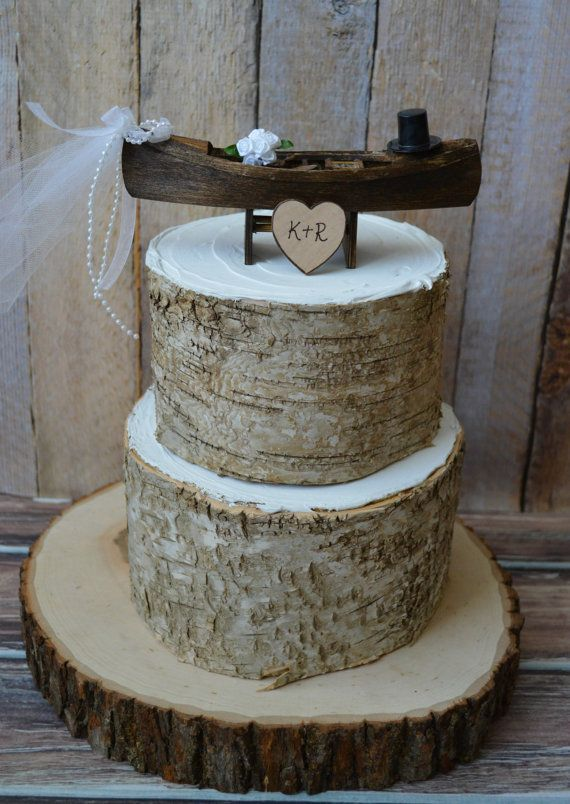 8 Photos of Rustic Groom Wedding Cakes