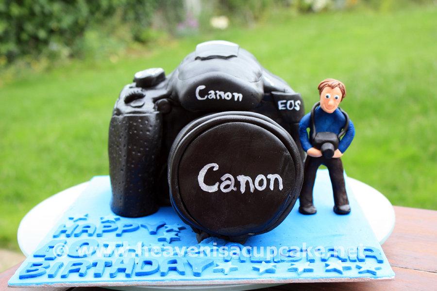Cool 10 Camera Chocolate Cakes Photo Canon Camera Cake Camera Cake Personalised Birthday Cards Veneteletsinfo