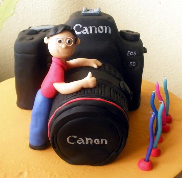 Terrific Birthday Cake Happy Birthday Camera Cake Personalised Birthday Cards Veneteletsinfo